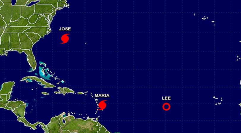 Hurricane Maria Is Category 2, Threatening Caribbean Islands