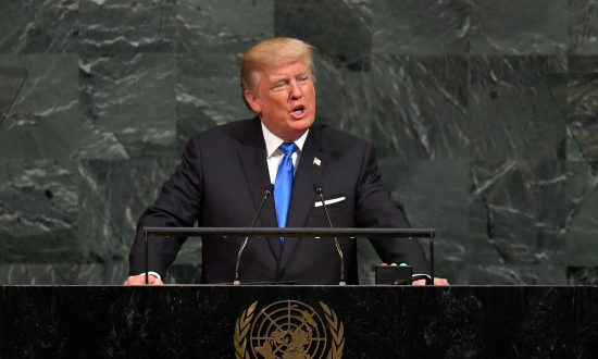 President Trump Gives His First Address to the 72nd Session of the United Nations General Assembly