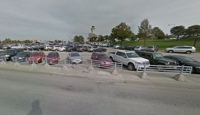Kansas City Airport Terminal B parking lot . A deceased man was found in the parking lot of a Missouri airport eight months after he went missing. (Google Street View.