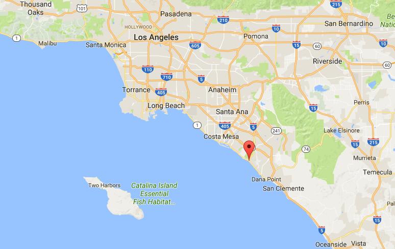 Laguna Beach, Calif. (Screenshot via Google Maps)