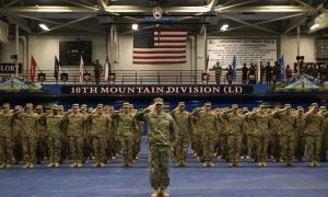 With Honor and Leadership the US Army Protects America