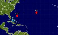 Hurricane Lee Forms in Atlantic on Sunday