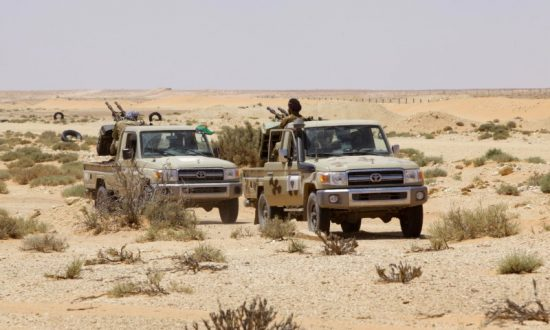 Libyan Commander Said Forces Hit ISIS Camp With Air Strike