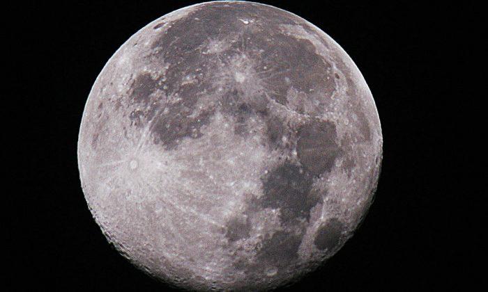 The moon. (Roberto Schmidt/AFP/Getty Images)