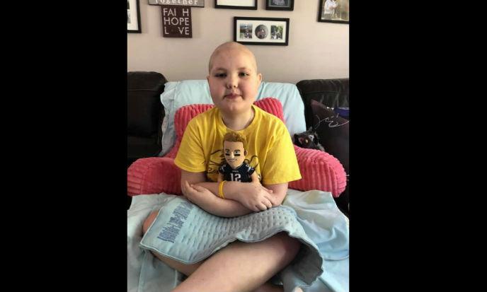 Hailey Steward was diagnosed with acute lymphoblastic leukemia at the age of 5. (Courtesy of Tabaitha Steward via Facebook)