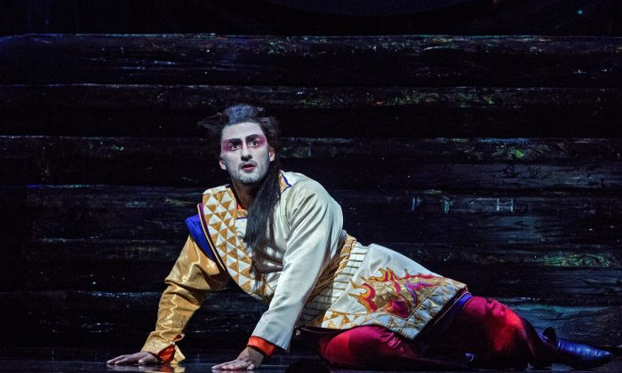 "Charles Castronovo as Tamino in Mozart's ""Die Zauberflöte."" (Richard Termine/Metropolitan Opera)"