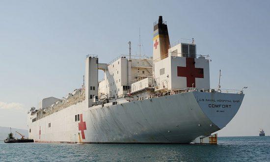 USNS Comfort Navy Hospital Ship Heading to Hurricane-Stricken Puerto Rico