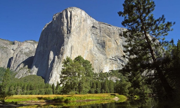 Yosemite rock fall victims were British climbers