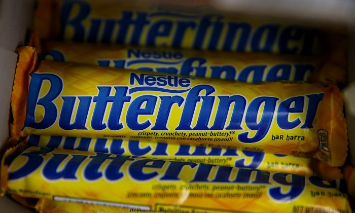 Nestle Butterfinger candy bars. (Justin Sullivan/Getty Images)