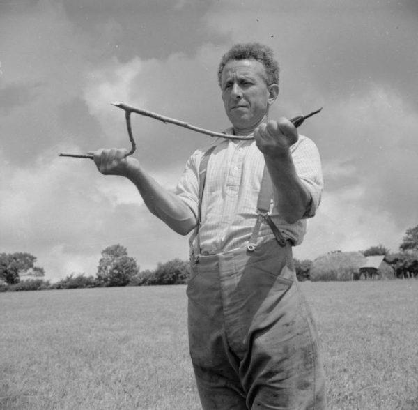 A file photo of a dowser. (Public domain)