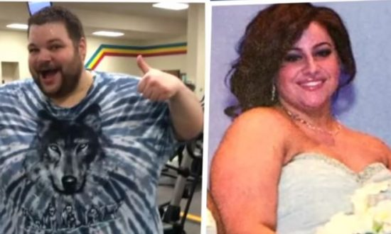 Both obese, couple met while they were working to get fit—and lose 600 pounds combined before their wedding