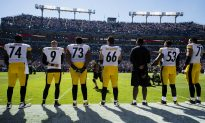 Steelers, Ravens Stand for Anthem