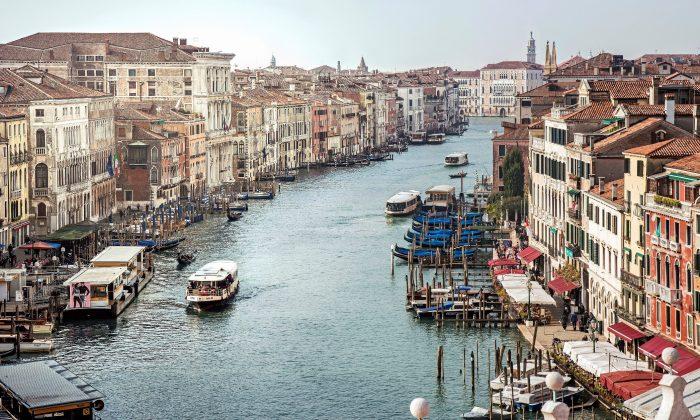 Venice's Grand Canal. (Didier Descouens/Wikimedia Commons)