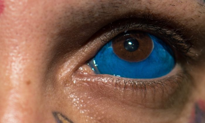 Brazilian tattoo artist Rattoo poses for a picture during Tattoo Week Rio in Brazil. (Yasuyoshi Chiba/AFP/Getty Images)