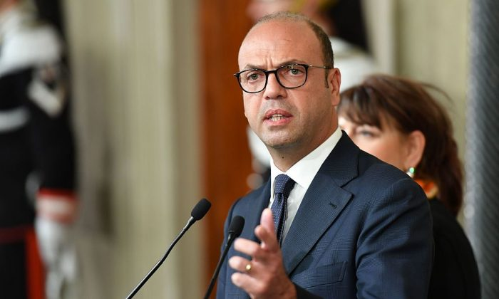 Angelino Alfano, Italy's foreign minister (Alberto PizzoliAFP/Getty Images)