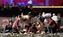 Woman in Iconic Photo of Vegas Shooting Finally Finds the Man She Helped