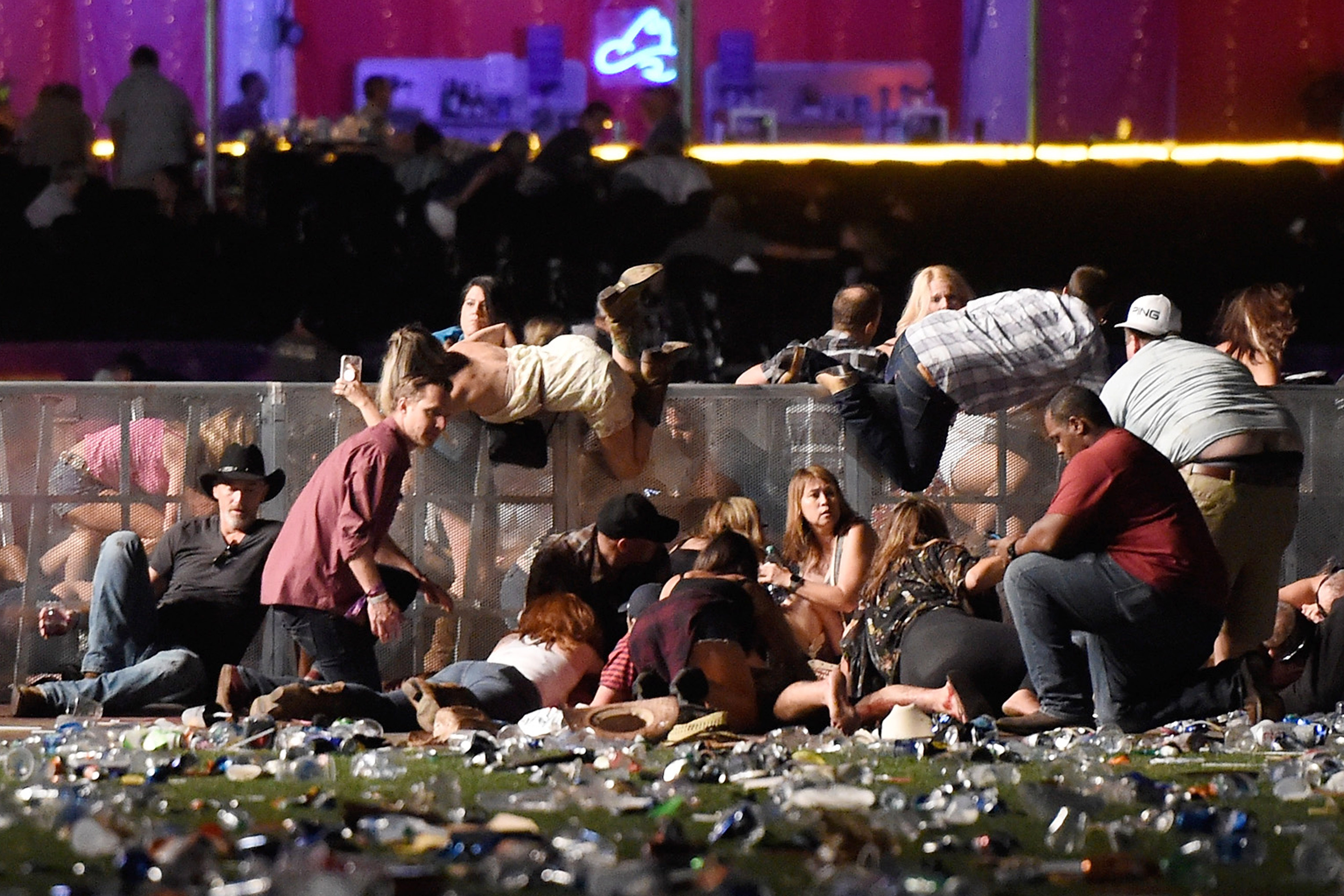 Las Vegas shooting: Trump offers no solutions for mass shootings