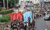 40,000 Hong Kong'ers March in Protest of Chinese Communist Rule