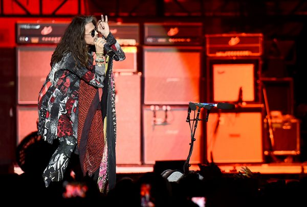 Steven Tyler of Aerosmith performs at the Capital One JamFest during the NCAA March Madness Music Festival 2017 on April 2, 2017 in Phoenix, Arizona. (Photo by Michael Loccisano/Getty Images for Turner Sports)