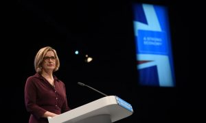 Amber Rudd Announces Ban on Selling Acid to Under-18s