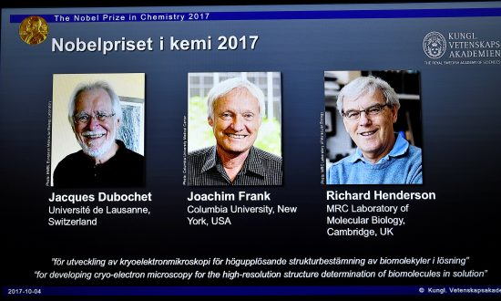 Microscope Trailblazers Win Chemistry Nobel for 'Freeze Framing' Life