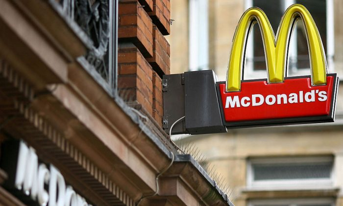 A McDonald's fast food location. (Ben Stansall/AFP/Getty Images)