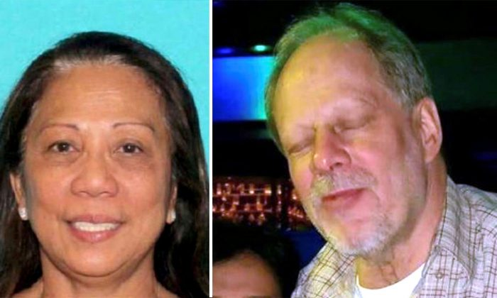 Marilou Danley (left), whose live-in boyfriend Stephen Paddock (right) carried out a shooting rampage at a Las Vegas concert Sunday night. (Handout via REUTERS)