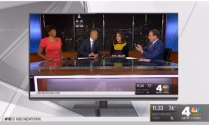 News anchor lets out a little giggle live on air—when the broadcast ends she goes to the hospital