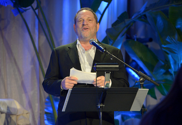 Co-Chairman of The Weinstein Company Harvey Weinstein on Feb. 21, 2015 in Los Angeles.  (Charley Gallay/Getty Images for TWC)