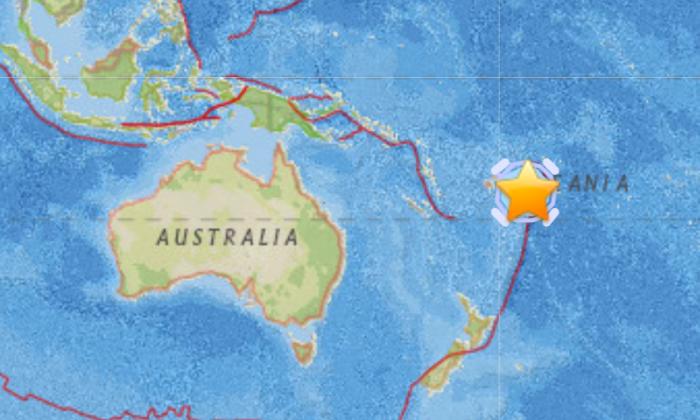 61 M Earthquake Strikes Near Archipelago of Tonga in Pacific Ocean