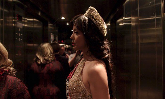 "A scene from Canadian documentary ""Anastasia Lin: The Crown."" (Courtesy Kacey Cox)"