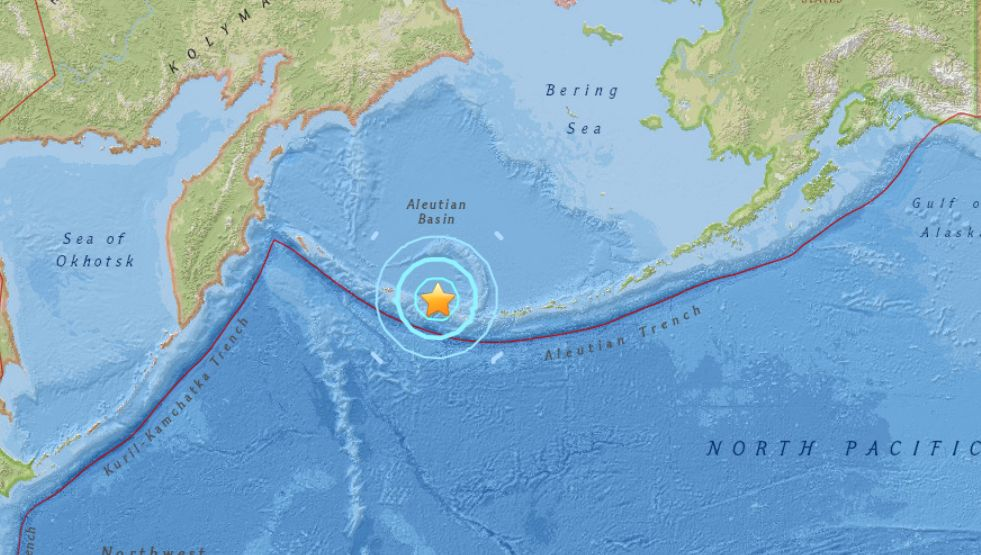 Quake hits north of Tonga