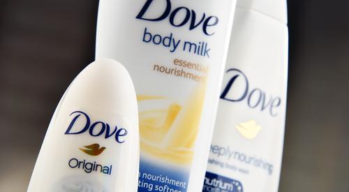 Dove soap. (Shutterstock/Monticello)