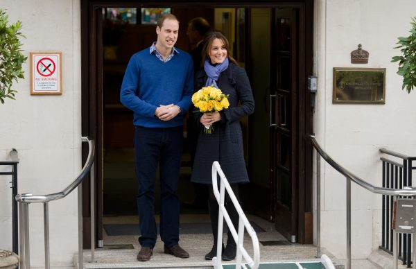 Prince William, the Duke of Cambridge, arrives at the King Edward VII hospital in central London where Catherine, the Duchess of Cambridge, is resting after being admitted suffering severe morning sickness on Dec. 6, 2012. (Leon neal/AFP/Getty Images)