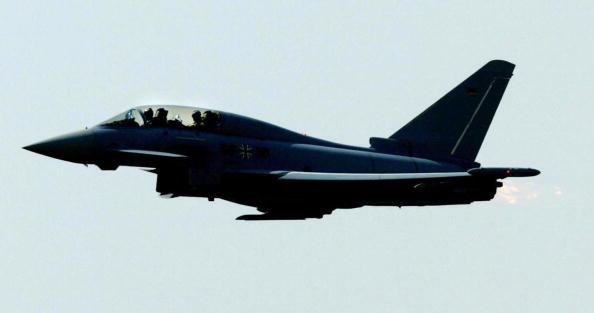A Eurofighter jet. (Torsten Silz/AFP/Getty Images)