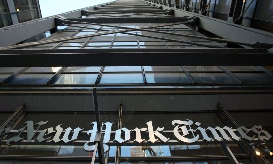 New York Times Tops President Trump's Fake News List