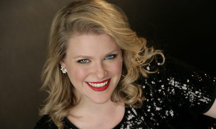 Soprano Erin Wall (Kristin Hoebermann)