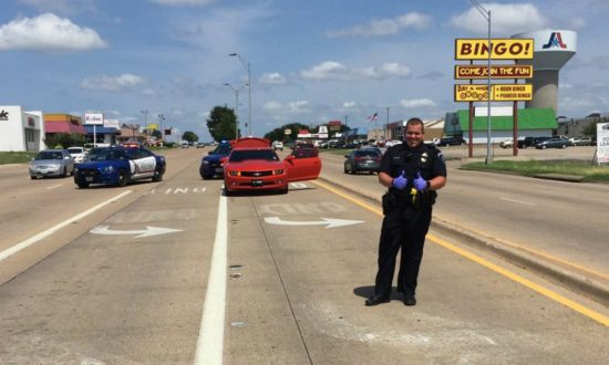 Police officer stops to help driver pulled up on highway—he wasn't expecting what he found under the car