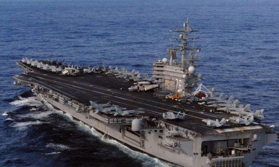 USS Ronald Reagan Enters South Korean Port as North Korea Tensions Simmer
