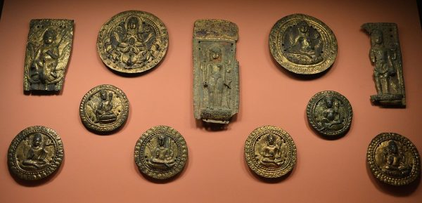 Gilded objects from the 11 century A.D. (Suraj Belbase/CC BY-SA)