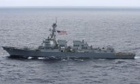 US Warship Challenges China's Claims in South China Sea