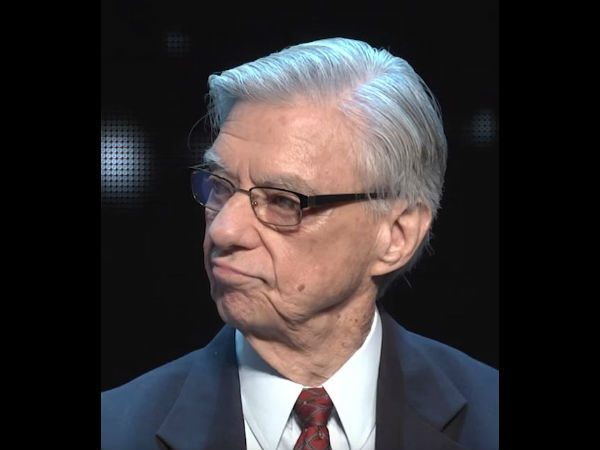 Dr. Hal Puthoff at the launch of To The Stars Academy of Arts & Science on Oct. 11, 2017. (Screenshot/YouTube/To The Stars Academy of Arts & Science)