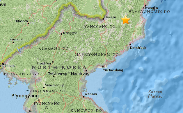 USGS: Seismic activity detected near North Korean nuclear test site