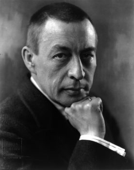 Sergei Rachmaninoff (1873–1943) in 1921. (Public domain)