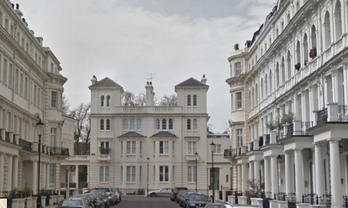 A screen shot of Stanley Gardens, near Notting Hill's famous Portobello Road. (Google Maps)