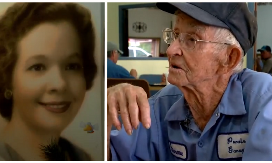 Georgia man found true love in 1948—but even though his wife passed away 4 years ago, he makes sure she is always with him