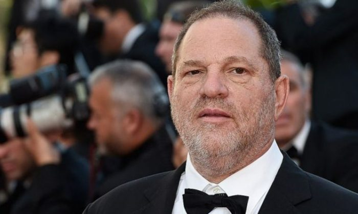 U.S. producer Harvey Weinstein at the screening of the film 'The Little Prince' at the 68th Cannes Film Festival in Cannes, southeastern France, on May 22, 2015. (LOIC VENANCE/AFP/Getty Images)