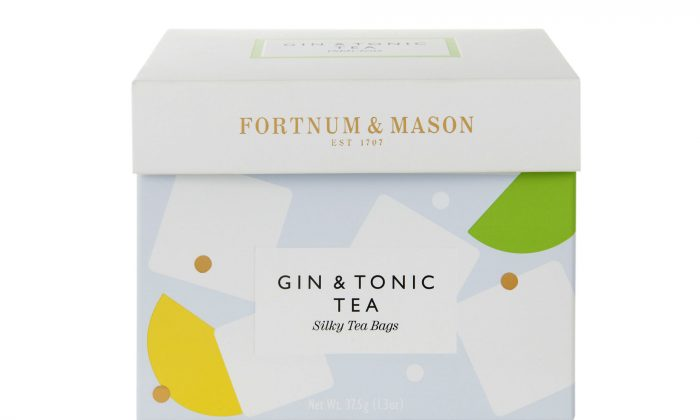 Gin-lovers can enjoy a G&T without the consequences. (Gin & Tonic Tea, www.fortnumandmason.com)