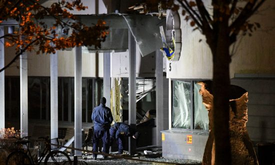 Explosion Hits Police Station in Sweden