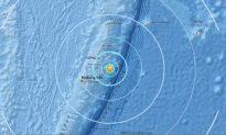 Magnitude-6.0 Earthquake Hits Near Tonga